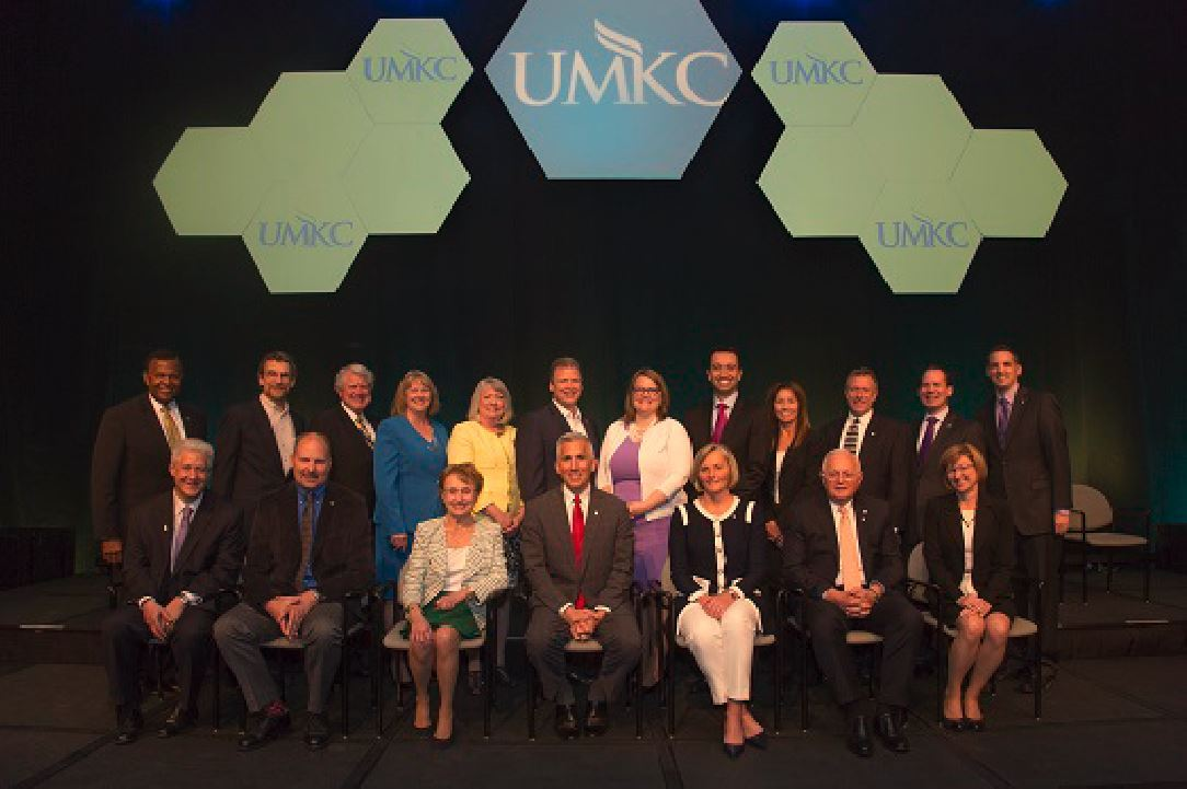 UMKC Alumni Achievement Award winners